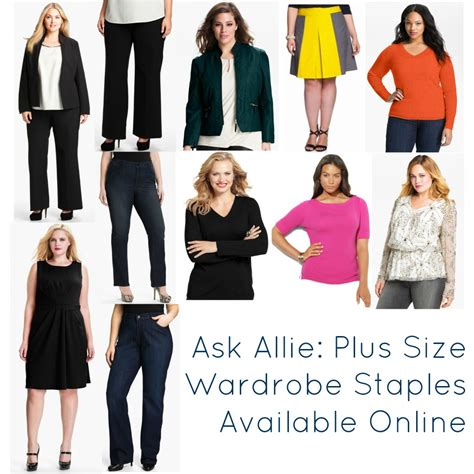 Plus Size Wardrobe plus size wardrobe staples wardrobe oxygen