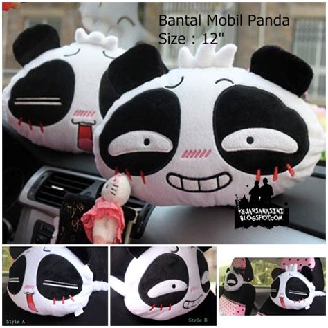Bantal Panda Tidur Boneka Bandung Pink jual boneka on bantal mobil panda