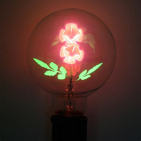flowers in light bulbs damar 47071 quot flower quot g25 medium base 05620a