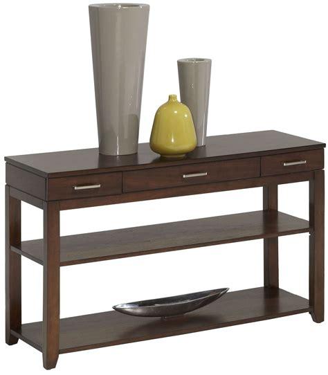 walnut sofa table daytona regal walnut sofa console table from progressive