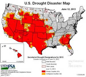 us drought map 171 earth