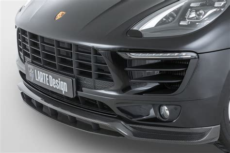 Porsche Macan Accessories by New Porsche Macan Carbon Accessories By Larte Design