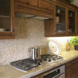 Travertine Kitchen Backsplash by Travertine Backsplash Pictures To Pin On Pinterest