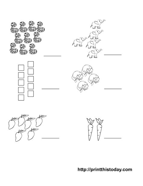 matching numbers worksheet writing the matching number pre school maths worksheets