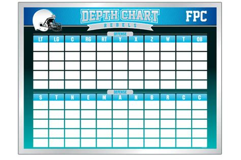 football depth chart template excel football template depth chart search engine at