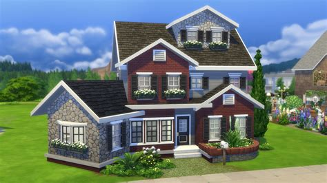 House Plans Cottage Style by The Sims 4 Gallery Spotlight Starter Homes Sims Community