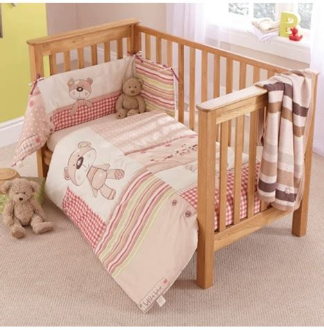 Cot Bed Bumper Sets Uk Clair De Lune Cot Cotbed Quilt And Bumper Set Buy At Online4baby