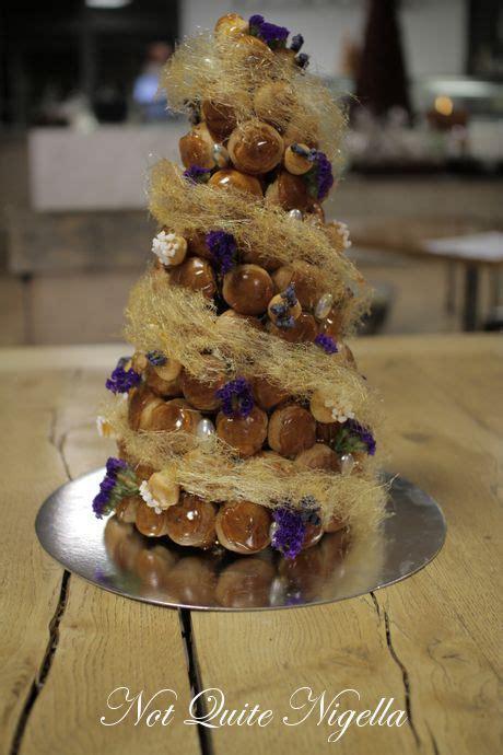 step  step croquembouche cake patisse sydney