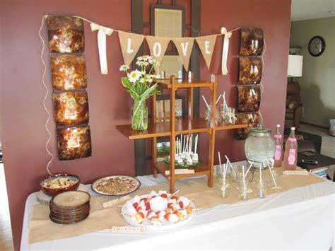 rustic bridal shower annmarie bakeshop