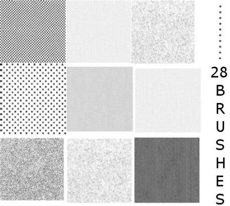 patterns photoshop manga screentones 28 brushes gimp 2 0 by shiroisincell on