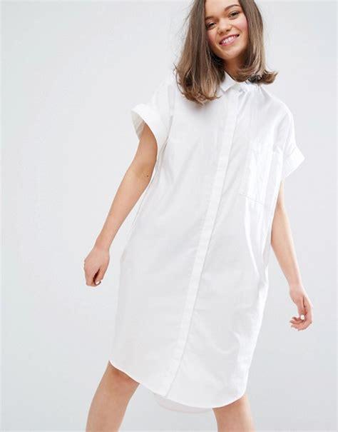 Mini Dress Gaun Grid Pattern 188937 Original Sale monki monki sleeved shirt dress