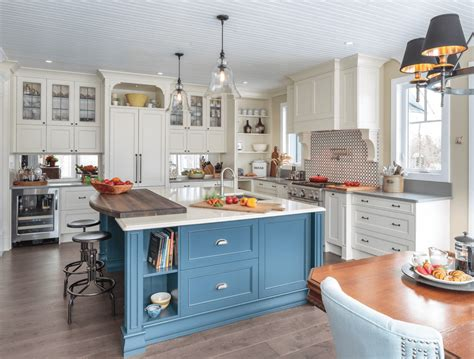 kitchen cabinet idea blue white kitchen ideas kitchen and decor