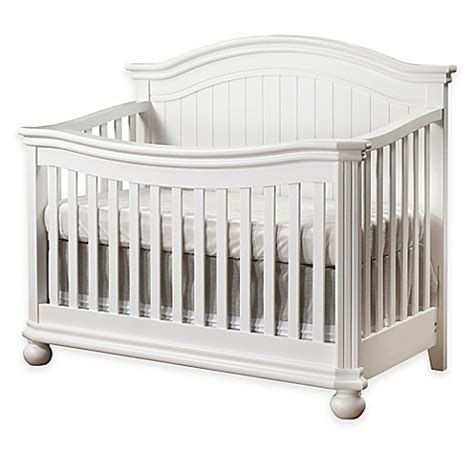 White Crib Convertible Sorelle Finley 4 In 1 Convertible Crib In White Buybuy Baby