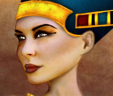 imagenes egipcio maquillaje la historia del maquillaje
