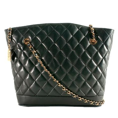 Quilted Chanel by Chanel Quilted Lambskin Tote