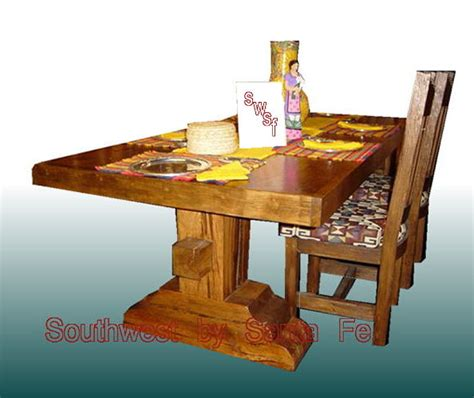 Southwestern Style Table Ls by El Capitan Southwestern Style Dining Tables