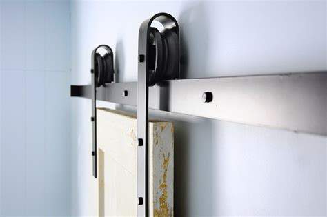 Traditional Sliding Barn Door Hardware Kit Off The Hinges Sliding Barn Door Hardware Kits