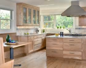Natural Wood Kitchen Cabinets Natural Wood Cabinets Houzz