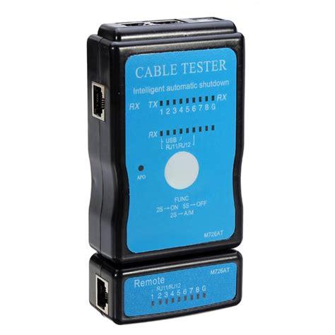 Lan Tester Rj45 Rj11 Dks cable tester lan usb rj45 rj11 rj12 network ethernet cat5 alex nld