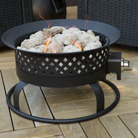 Propane Deck Pit Propane Pit Portable Home Outdoor Deck Patio Yard
