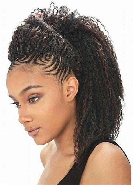 crocheted hair prom styles crochet hairstyles alll natural babyyy pinterest