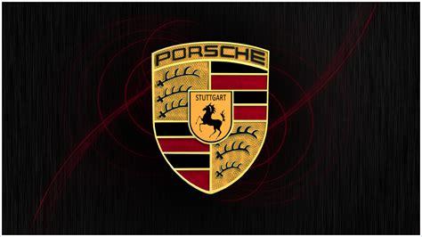 logo porsche le logo de porsche les marques de voitures