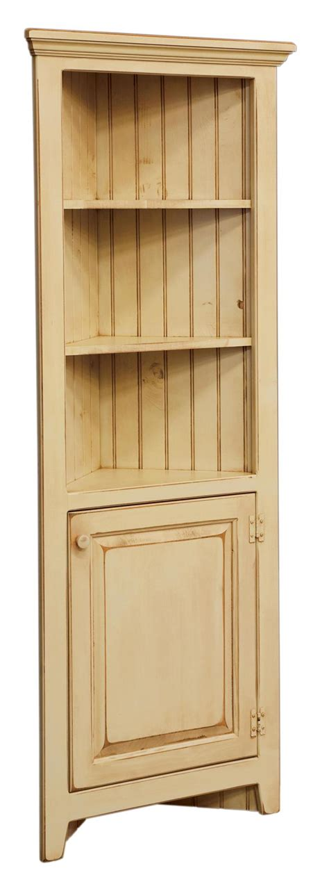 kitchen corner furniture amish 28 inch corner cabinet
