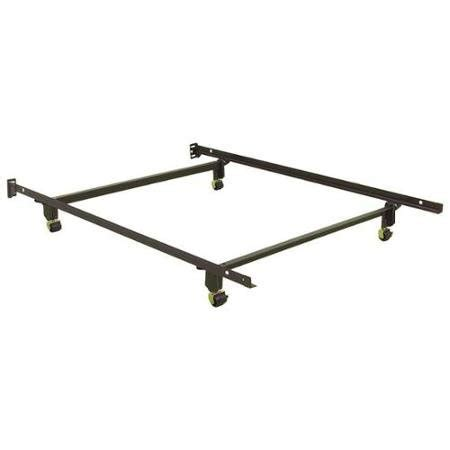 Wheels For Metal Bed Frame 6 Leg Heavy Duty Adjustable Metal Xl Xl Bed Frame With Rug