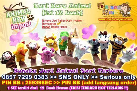 Boneka Jari Seri Animal 10pc 1 grosir boneka jari shio zodiac chinesse animal shio isi 12
