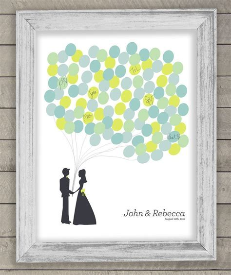 new ideas for wedding guest book alternatives   OneWed.com