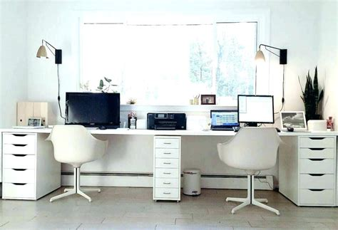 large home office desk office desk home white