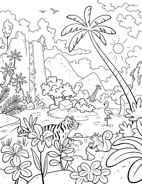 primary music coloring pages our beautiful world a lds primary coloring page from lds