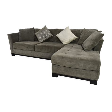 gray sectional sofa with chaise hereo sofa