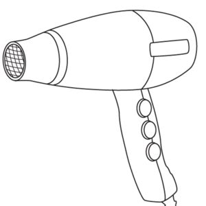Zazendi Hair Dryer Bag 1000 images about dibujos aseo on hair dryer flat irons and bags