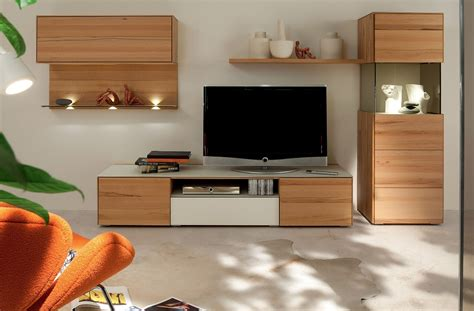 wooden finish wall unit combinations  huelsta
