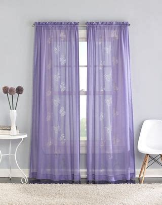 Sheer Butterfly Curtains Butterfly Sheer Curtains Girly Chambers