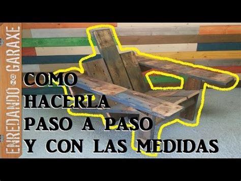 Pallet Chair Como Hacer La Silla De Patio Adirondack Con Madera De
