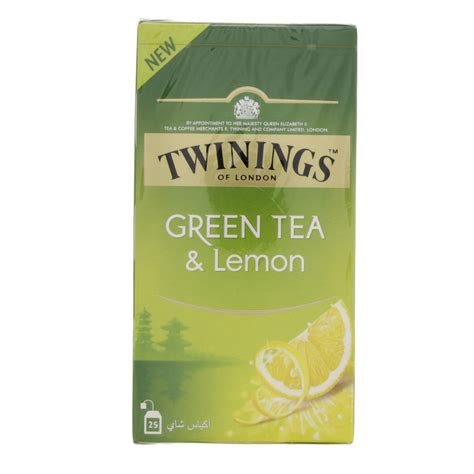 Twinings Green Tea Lemon 25 Teabags buy twinings green tea and lemon 25 bags in uae abu dhabi qatar