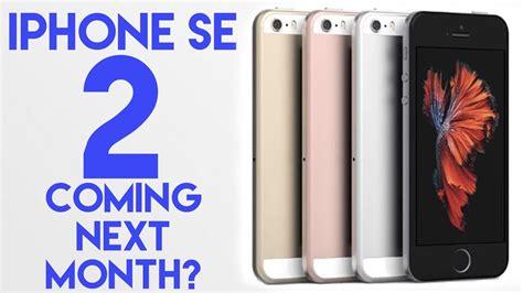 iphone se 2 is it happening