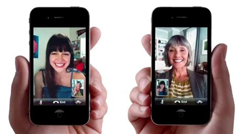 iphone facetime apple launches two new iphone ads facetime and airplay