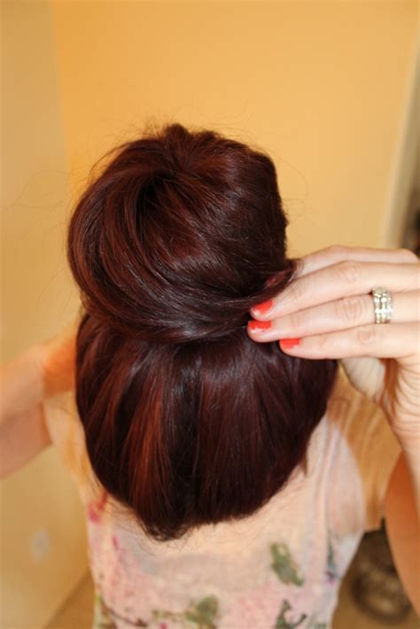 how to cut off a bun steps with images ballerina bun 183 how to style a hair bun 183 hair styling on