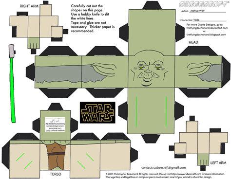 Yoda Papercraft - sw6 yoda cubee by theflyingdachshund on deviantart
