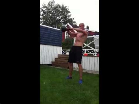 kettlebell swings 1 5 pood 100 unbroken kettlebell swings with 1 5 pood youtube
