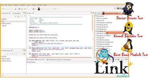 tutorial linux kernel programming linux kernel programming ide link ide eclipse plugins