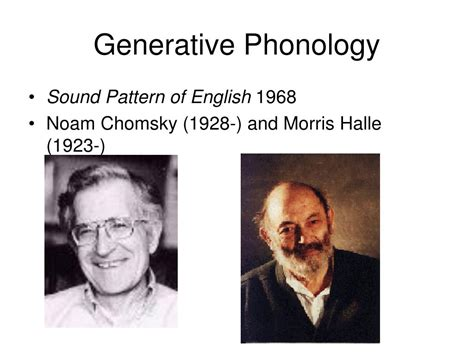sound pattern of english noam chomsky ppt the scope of linguistics powerpoint presentation