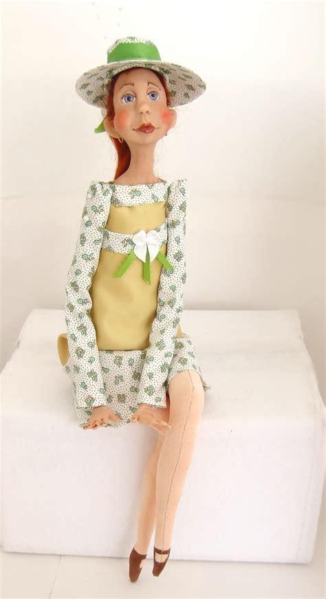 Handcrafted Dolls - lou dolls by francine handmade dolls