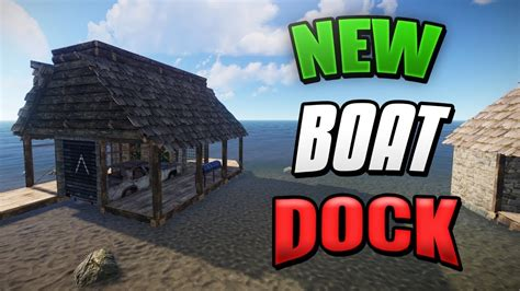 rust boat base dock design rust base design 3 0 youtube - How To Make A Boat Base Rust