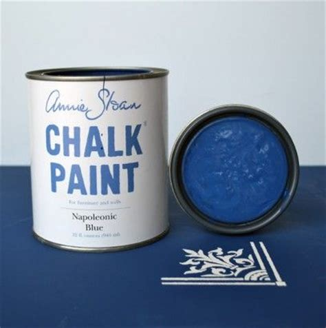 chalk paint napoleonic blue napoleonic blue sloan chalk paint uk blue lookin