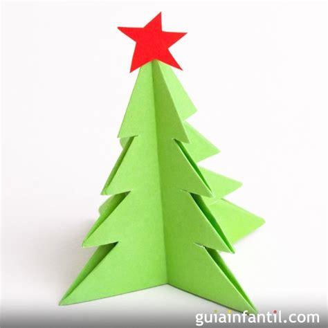 arbol navidad manualidades papel manualidades de origami 193 rbol de navidad de papel