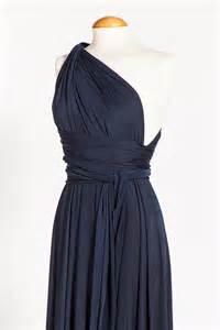 Navy Blue Infinity Dress Bridesmaid Dress Infinity Navy Blue Dress Ready To Ship By